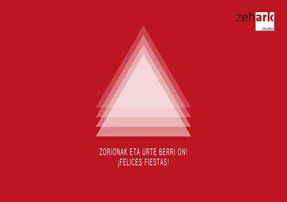 Felicitacion de Navidad Zehark Studio 2014