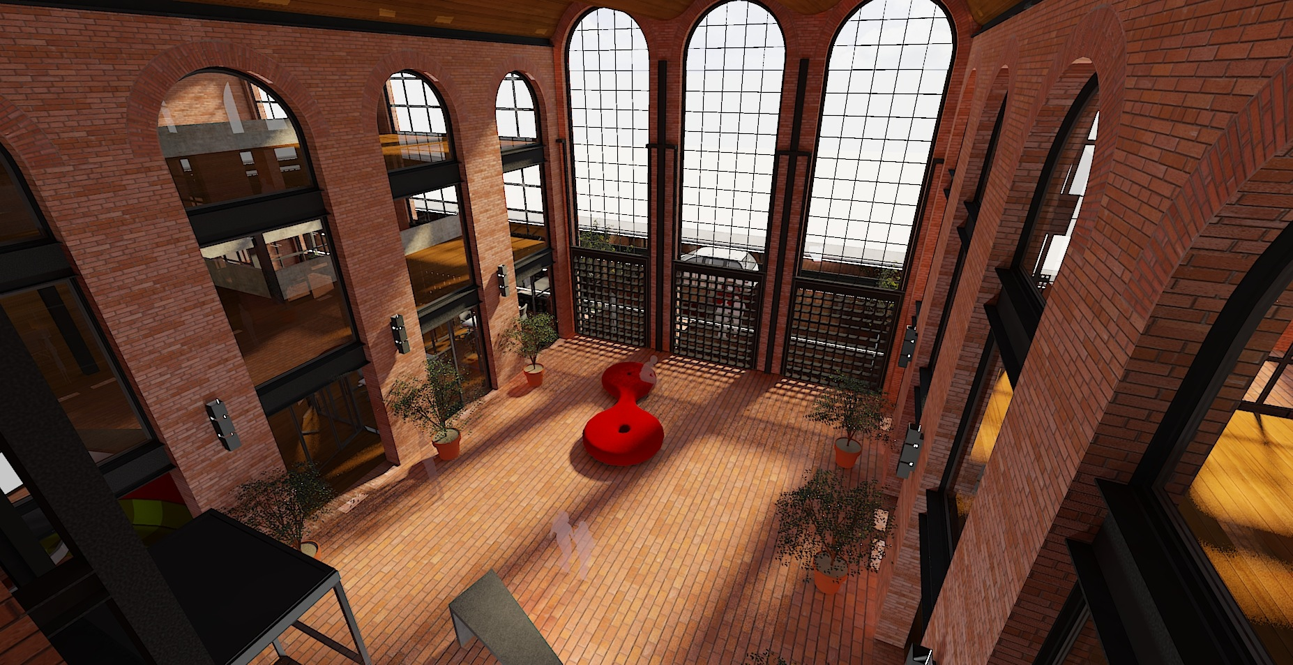3D Arquitectura interior
