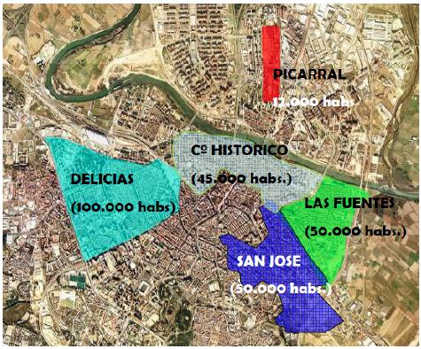 Viaje rehabilitacion urbana Zaragoza