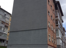 Rehabilitación fachada Avilés